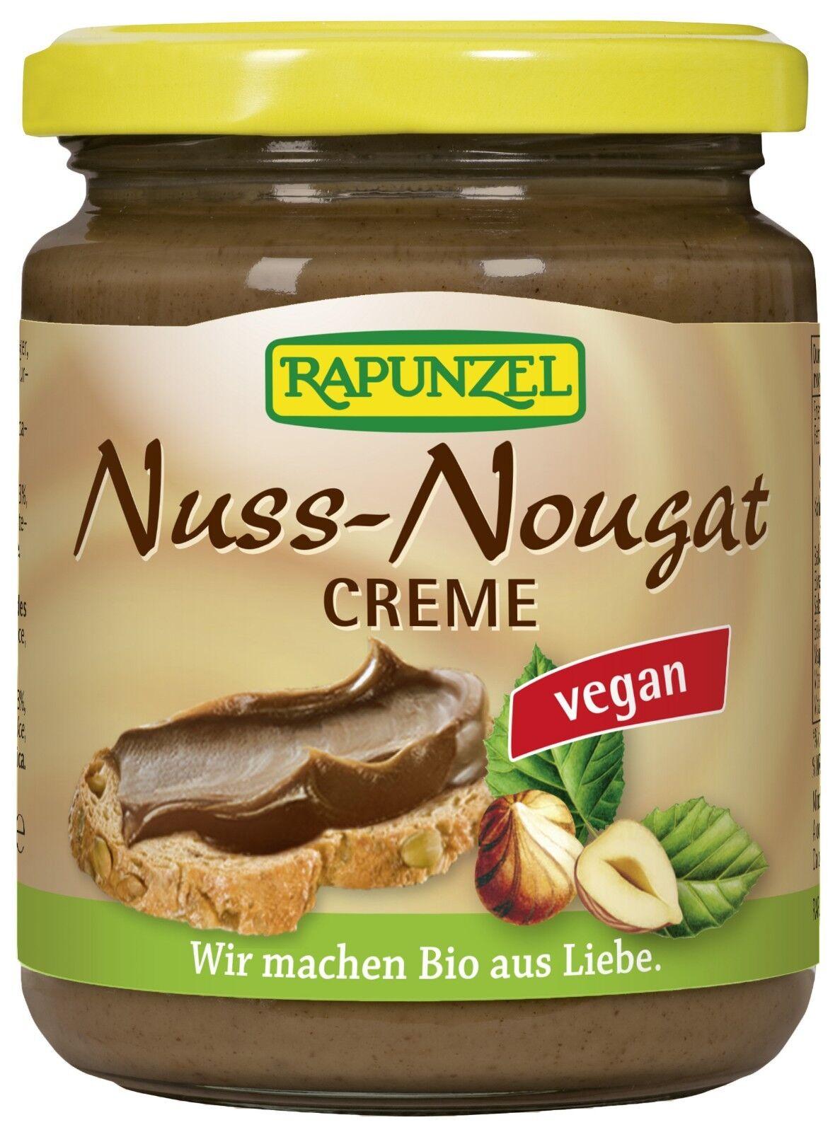 RAPUNZEL Nuss-Nougat-Creme vegan, 250g BIO aus Liebe