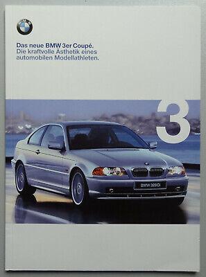 V12884 BMW 3 COUPE - 318Ci 320Ci 323Ci 328Ci - CATALOGUE - 02/99 - A4 - D