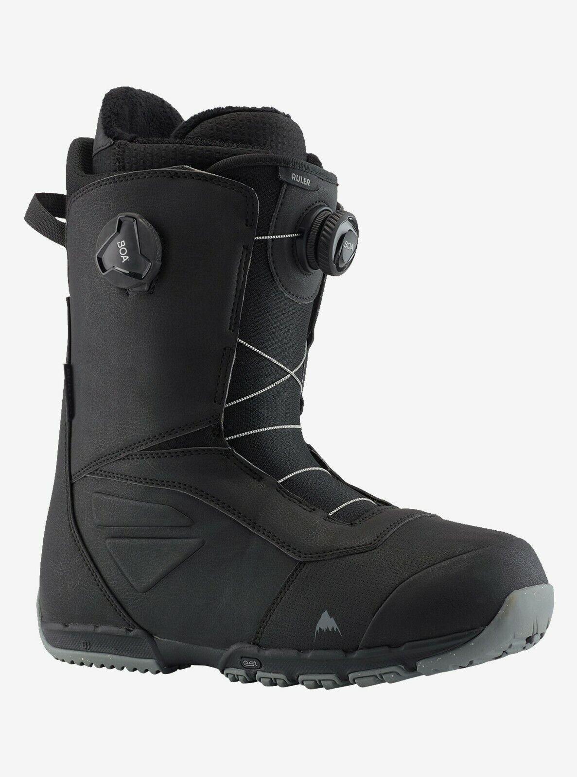 Burton Ruler BOA   2020 - Mens Snowboard Boots   Black