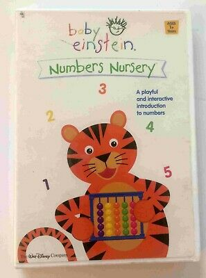 Baby Einstein: Numbers Nursery (DVD) Walt Disney ~ Disc pristine