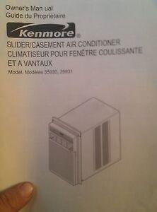 11500 btu kenmore window ac