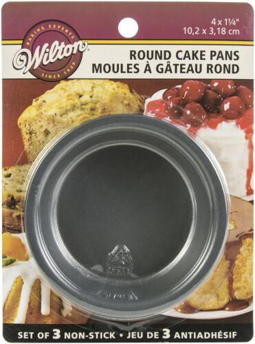 Mini Cake Pans 3/Pkg-4X1.25 Round