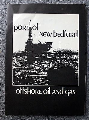 1976 NEW BEDFORD MASSACHUSETTS Offshore Oil and Gas PUBLICATION Exploration MASS