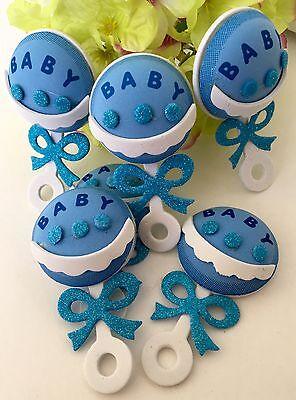 10-Baby Shower Party Table Decorations Foam Centerpiece Favors Supplies Boy DIY (Baby Shower Favors Diy)