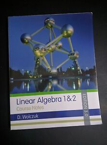 Linear Algebra 3rd Edition by Wolczuk