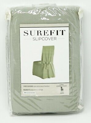 Sure Fit Duck Dining Room Chair Slipcover - Sage - 100%