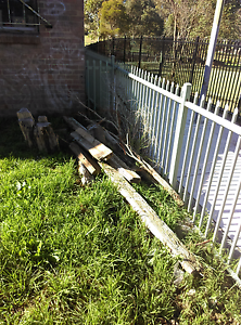 Free timber sleepers Whalan Blacktown Area Preview