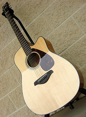 Brand new yamaha fgx700sc solid top acoustic electric for Yamaha guitar brands