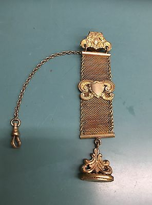 ANTIQUE VICTORIAN GOLD WATCH FOB SEAL LADIES