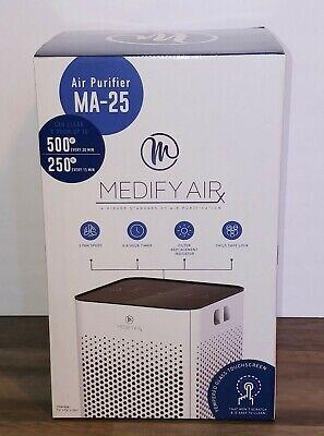 Medify Air MA-25 True HEPA H13 Grade Air Purifier for 500 Sq Ft. White