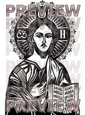 Clipart Clip Art-vinyl Cutter Plotter Graphics Christian Saints Religion Image