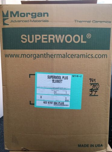 "Superwool Plus Biosoluble fiber 1/"" 6# 50 sf//roll"