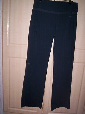 LADIES REEBOK PLAY DRY GYM LEGGINGS BLACK SIZE 12 for sale  Shipping to South Africa