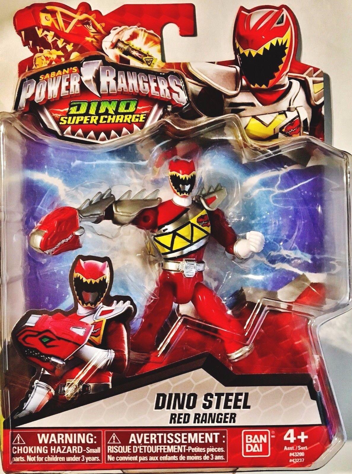 Power Rangers Dino Super Charge - Dino Steel Red Ranger