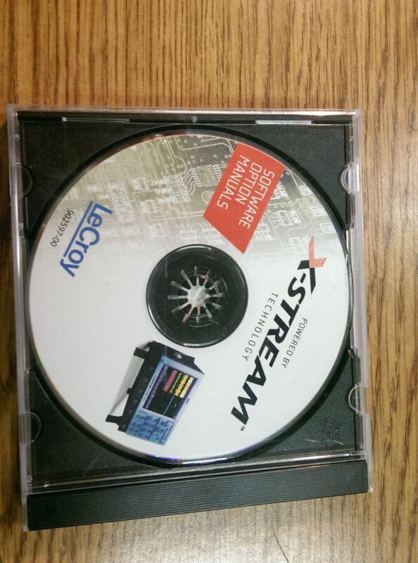 Llecroy x-stream Software Option Manual CD