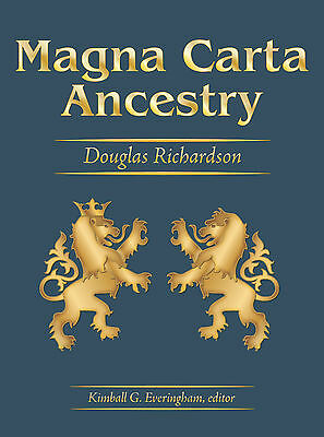 Magna Carta Ancestry  A Study In Colonial And Medieval Families