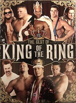 WWE The Best of King of the Ring DVD 2011 3-Disc Set WWF WCW ECW Good Condition