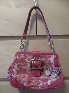RARE Limited Edition Coach Exotics Butterfly Purse