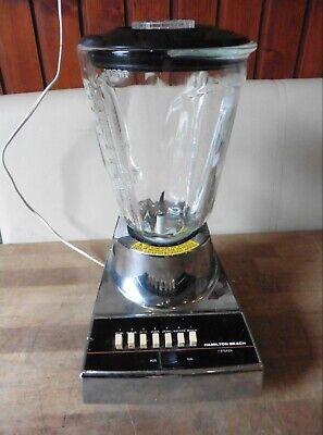 Hamilton Beach Standmixer 1G600CK-3 Mixer Blender Chrom Optik Made in