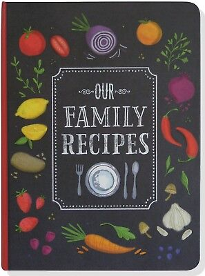 Blank Recipe Book Cookbook My Favorite Family Recipes Keeper Diary Food Journal