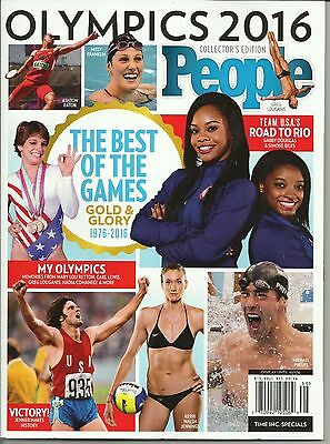 People Magazine Olympics 2016 Collectors Edition  13 99