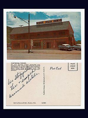 RINGS THE SIOUX VILLA CURIO GIFT SHOP CIRCA 1954 (Sioux Shop)