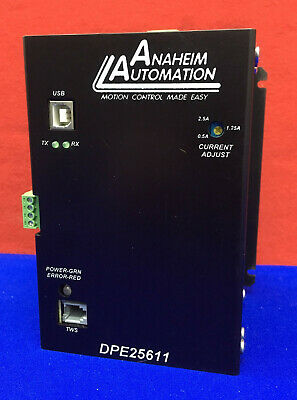 Anaheim Automation Dpe25611 Step Motor Driver Pack Stepper Driver