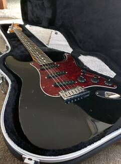 USA Fender Stratocaster 40'th Anniversary Electric Guitar Neutral Bay North Sydney Area Preview