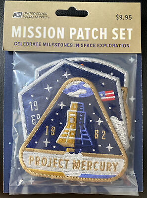 USPS Sally Ride Stamp - Space Mission Patch Commemorative Set - MINT UNOPENED