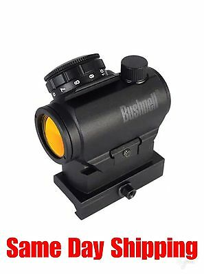 Bushnell TRS-25 3 MOA Red Dot Sight w/ Hi-Rise Mount Box AR731306 Same Day Ship