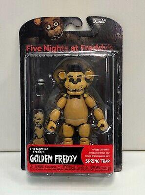 FNAF GOLDEN FREDDY FIVE NIGHTS AT FREDDYS FUNKO ARTICULATED