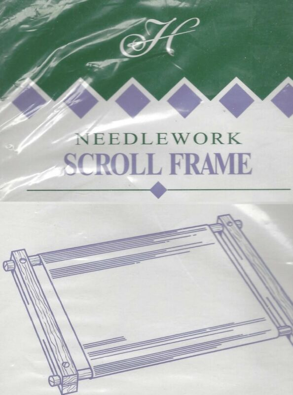 """Needlework Scroll Frame by Homecrafters 6"""" x 12"""" New"""
