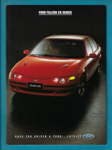 XR6 & XR8 FORD FALCONS 34 PAGE BROCHURE SEPTEMBER 1994