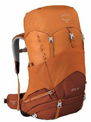 Osprey Ace 38 Rucksack Wanderrucksack Orange Sunset Orange Braun