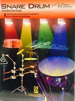SNARE DRUM (INCLUDING BASS DRUM) FIRTH FELDSTEIN SERIES MUSIC BOOK-NEW ON SALE!! Bass Drum Music Book