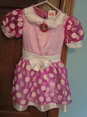 Disney Jr Halloween Costumes (Disney Jr. Minnie Mouse Toddler Girls Halloween Costume Pink Dress)