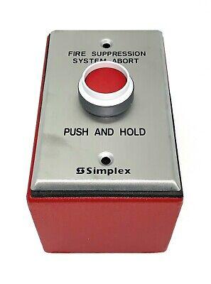 Simplex 2080-9068 Abort Switch Style C Surface