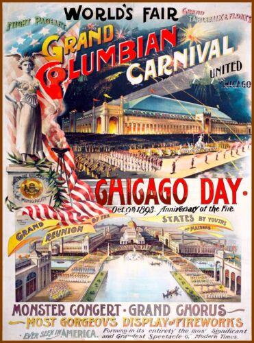 Chicago  Illinois 1893 World