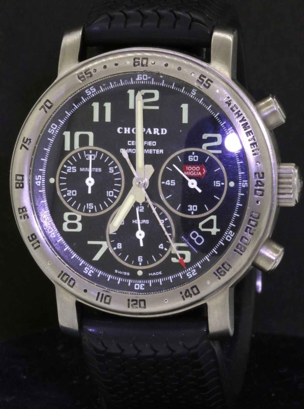 Chopard 1000 Miglia 8915 Titanium automatic chronograph men's watch - watch picture 1