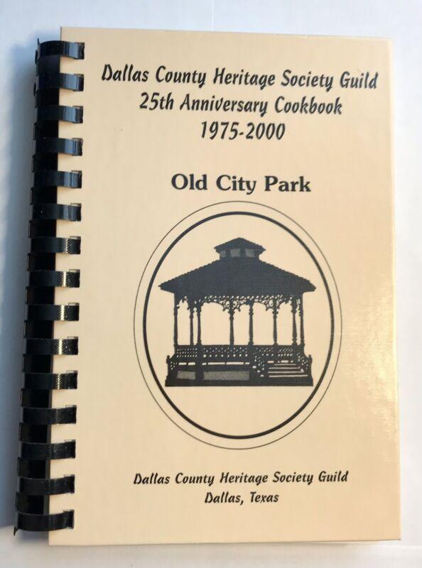 Dallas County Heritage Society Guild 25th Anniversary Cookbook 1975-2000 Recipe