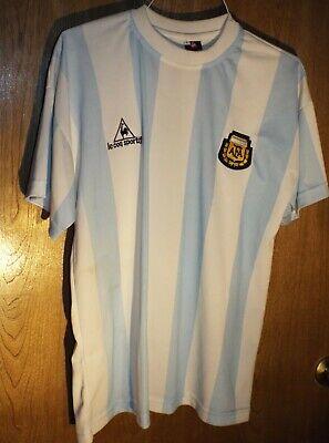 Le Coq Sportif AFA Argentina Soccer Jersey Size Large