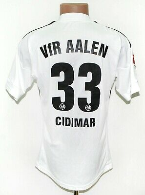 VFR AALEN GERMANY 2010/2011 HOME FOOTBALL SHIRT JERSEY ADIDAS #33 CIDIMAR SIZE S image