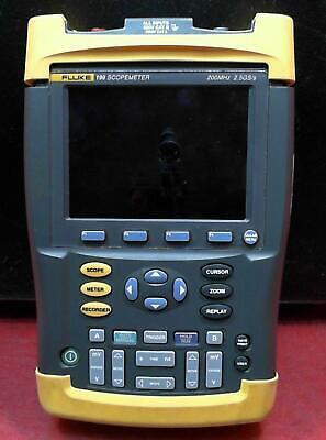 Fluke 199 Scopemeter 2.5gss Dual-input 200mhz Oscilloscope Dm7780324