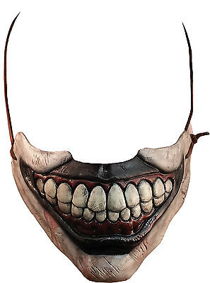 HALLOWEEN ADULT AMERICAN HORROR STORY TWISTY CLOWN  *MOUTH* MASK - Clown Mouth Halloween