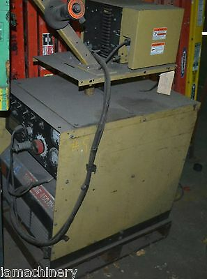 450 Amp Hobart Mig Welder Model Mega 450rvs Metal Welder