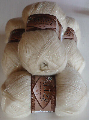 400g ALIZE GOLD SIMLI,GORGEOUS SOFT&SPARKLY MOHAIR BLEND KNITTING YARN,no.67