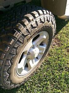 mud terrain tyres alloy wheels toyota South Maclean Logan Area Preview