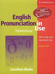 Cambridge ENGLISH PRONUNCIATION IN USE Elementary Book w Audio CDs | Marks @NEW@