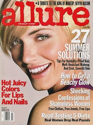Amber Valletta    Allure Magazine   July 2002   7 02 Kevyn Aucoin    D 1 3