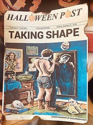 Michael Myers Halloween 1978 News Print The Shape